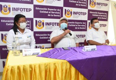 Alcalde Tete Samper y el rector de la IES Infotep, firmaron convenio para que los jóvenes cienagueros, continúen con su carrera técnica o profesional