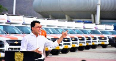 Con la entrega de ambulancias en los municipios del Magdalena, Gobernador Caicedo inicia la Ruta del Cambio en la Salud