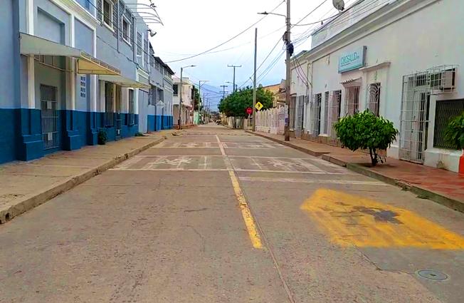 Este sábado los cienagueros cumplieron con las medidas decretadas por el alcalde Luis Alberto Tete Samper