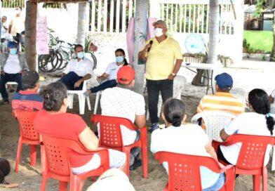Alcalde Luis Tete socializó el proyecto de alcantarillado con los habitantes del barrio Nancy Polo