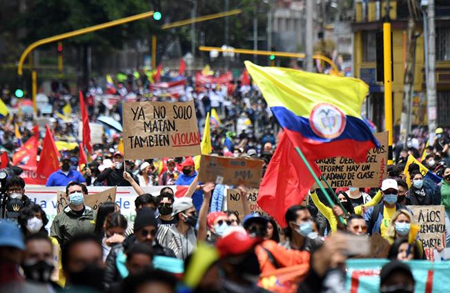 28 de septiembre: nueva jornada de protestas en Colombia