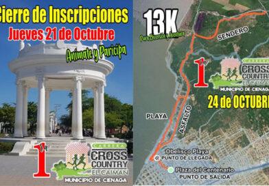 Este domingo 24 de octubre se realizará la 1ra Carrera Cross Country El Caimán en Ciénaga