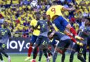 Colombia empató con Ecuador, y es cuarta en la tabla de posiciones